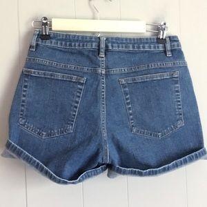 LEE Vintage High Waist Mom Jean Shorts 10P